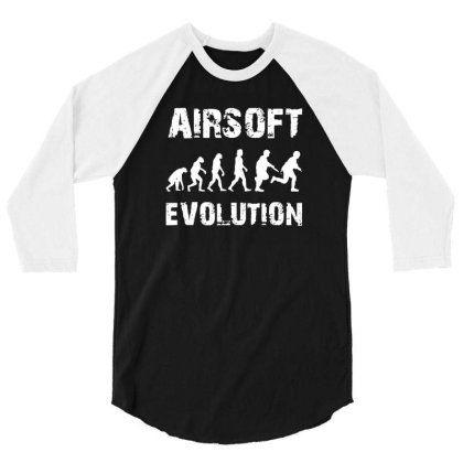 Airsoft Softair 3/4 Sleeve Shirt Designed By Kevin Design