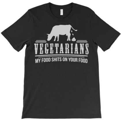 Funny Vegetarian Joke Printed Mens Tshirt Offensive Adult Humour Carni T-shirt Designed By Wanzinx