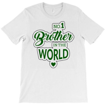 Brother In The World T-shirt Designed By Hatta1976