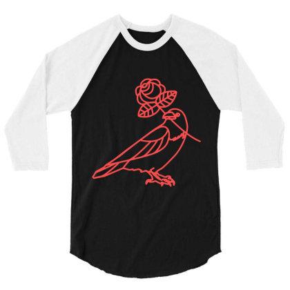 Democratic Socialists Of America 3/4 Sleeve Shirt Designed By Elasting