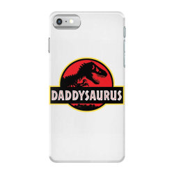 daddy dinosaur t rex  gifts for dad from kids proud daddysaurus gifts iPhone 7 Case | Artistshot