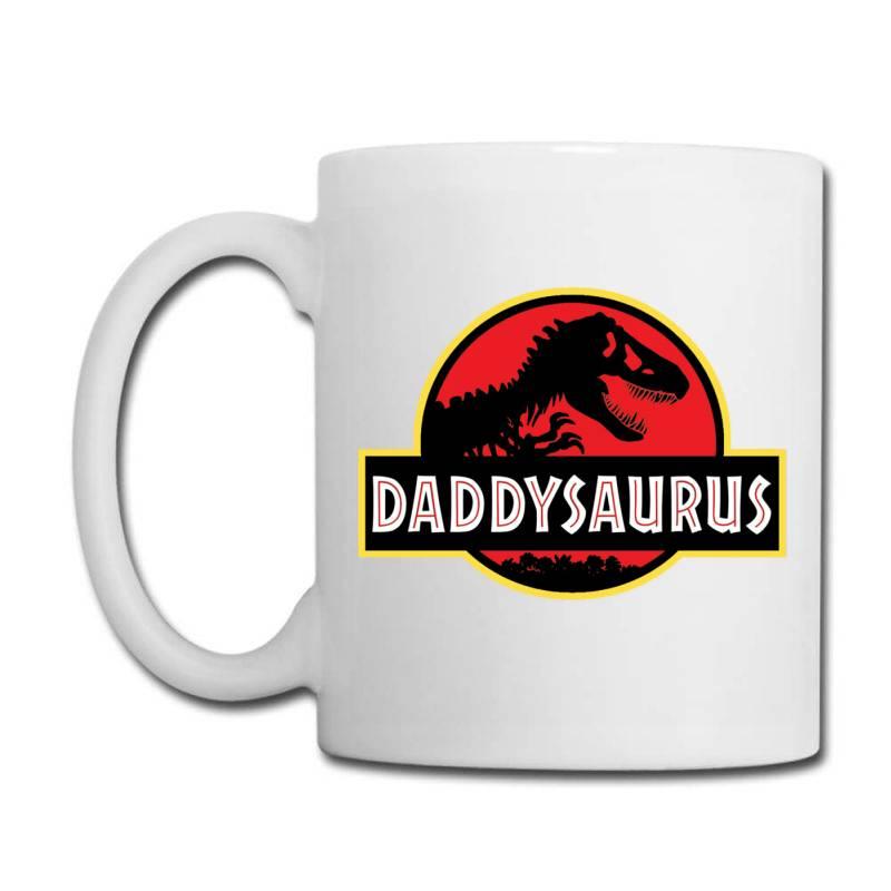 Daddy Dinosaur T Rex  Gifts For Dad From Kids Proud Daddysaurus Gifts Coffee Mug | Artistshot