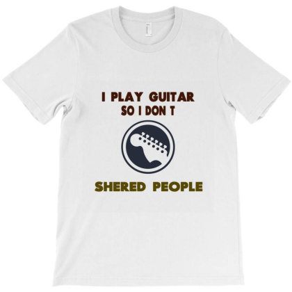 Bass Player Guitar T-shirt Designed By Hatta1976
