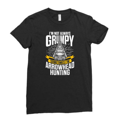 Arrowhead Hunting Collector Sometimes Hunter T Shirt Ladies Fitted T-shirt Designed By New1915