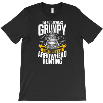 Arrowhead Hunting Collector Sometimes Hunter T Shirt T-shirt Designed By New1915