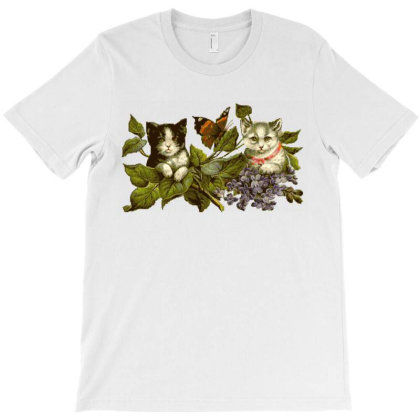 Cats T-shirt Designed By Hunnyb
