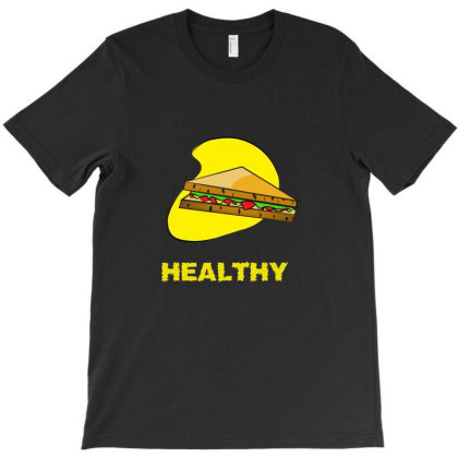 New Healthy Food Design Available For Man, Women And Children T-shirt Designed By Aun Ali