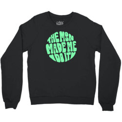the moon made me do it wideneck Crewneck Sweatshirt | Artistshot