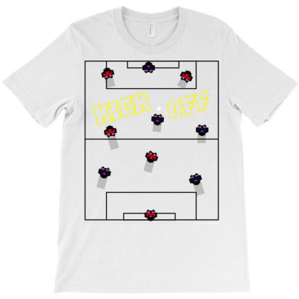 Sevensquared Kick Off Pitch 02 T-shirt Designed By Koopshawneen