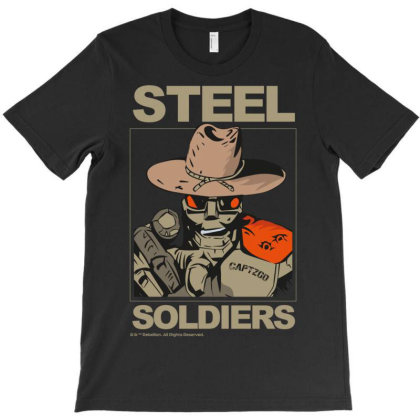 Sevensquared Steel Soldiers 2000 T-shirt Designed By Koopshawneen