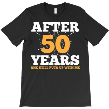 After 50 Years Cutest Graphic Design T-shirt Designed By Koopshawneen