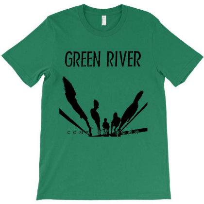 Green River Grunge T-shirt Designed By Batubatre