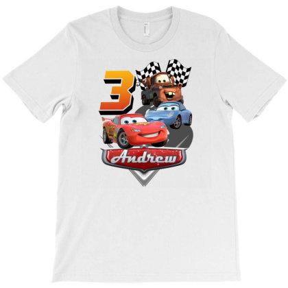 Cars Birthday T-shirt Designed By Jackquelywestday