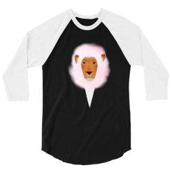 Cotton Lion 3/4 Sleeve Shirt | Artistshot