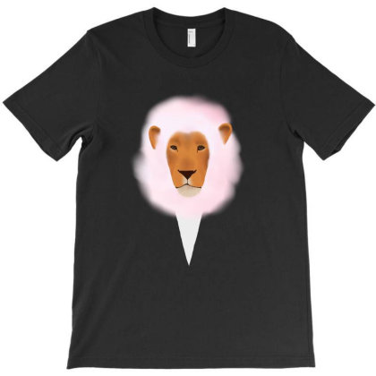 Cotton Lion T-shirt Designed By Kiki0_1