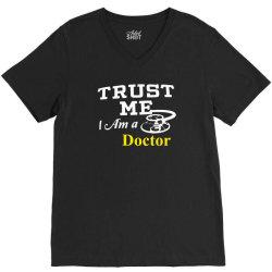 trust me i am doctor V-Neck Tee | Artistshot