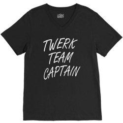 twerk team captain V-Neck Tee   Artistshot