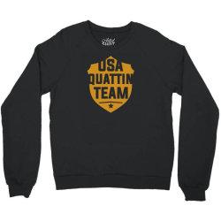 usa quattin team Crewneck Sweatshirt | Artistshot