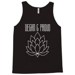 vegan & proud Tank Top | Artistshot