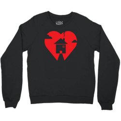 where the heart is Crewneck Sweatshirt | Artistshot