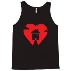where the heart is Tank Top | Artistshot