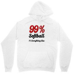 99 % softball Unisex Hoodie | Artistshot