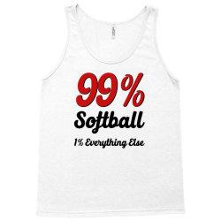 99 % softball Tank Top | Artistshot