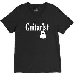 acoustic guitar loose V-Neck Tee | Artistshot