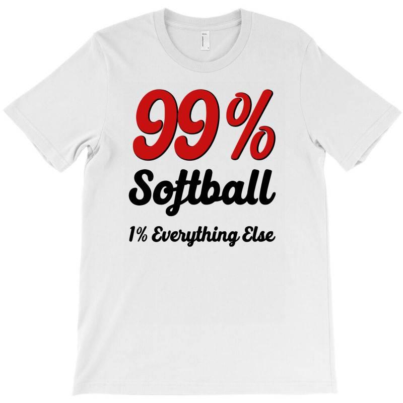 99 % Softball T-shirt | Artistshot