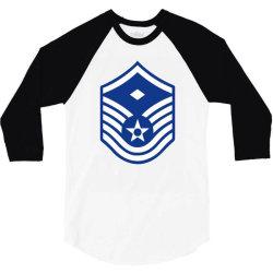 air force master sergeant 3/4 Sleeve Shirt | Artistshot