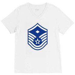 air force master sergeant V-Neck Tee | Artistshot