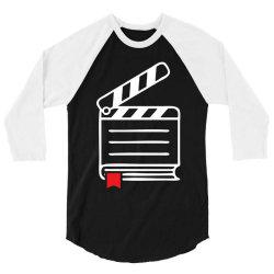 based on a book 3/4 Sleeve Shirt | Artistshot