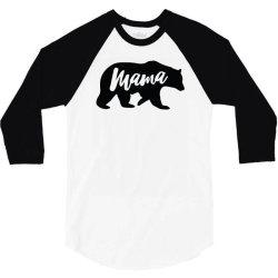bear mama 3/4 Sleeve Shirt | Artistshot