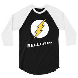 bellerin funny 3/4 Sleeve Shirt   Artistshot