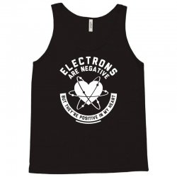 electrons are negative Tank Top | Artistshot