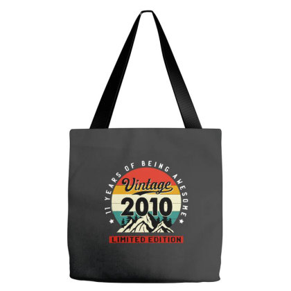 Vintage 2010 Limited Edition Tote Bags Designed By Jessicafreya