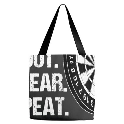 Dart Player Aim Shoot Swear Repeat Funny Darts Player Gift T Shirt Tote Bags Designed By Nhan0105