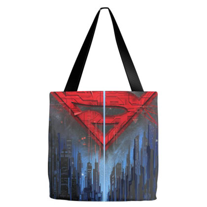 D C  F.a.n.d.o.me Su.per  M.a.n  Skyline Lo Go  T Shirt Tote Bags Designed By Welcome12