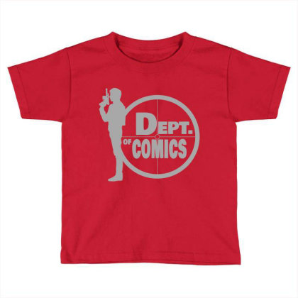 Copy Of The Dept Toddler T-shirt Designed By Elasting