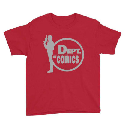 Copy Of The Dept Youth Tee Designed By Elasting