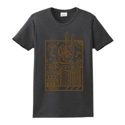 Geometric Peace City Ladies Classic T-shirt Designed By Tmax