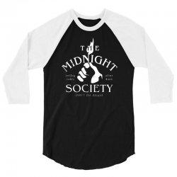 the midnight society 3/4 Sleeve Shirt | Artistshot