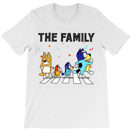 The Heeler Family Blue Dad Mom For Lover T-shirt Designed By Jessicafreya