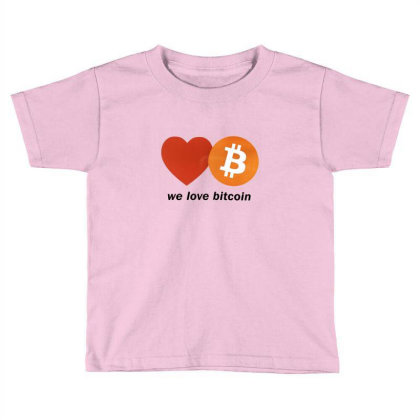 Digital Currency Toddler T-shirt Designed By Weikay Wonderland