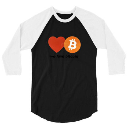 Digital Currency 3/4 Sleeve Shirt Designed By Weikay Wonderland