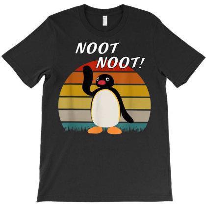 Noot Noot Penguin T-shirt Designed By Koopshawneen