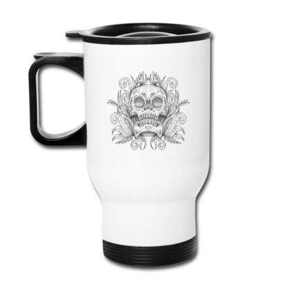 Skull Decoration Travel Mug Designed By Andypp