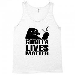 Gorilla Lives Matter Tank Top   Artistshot