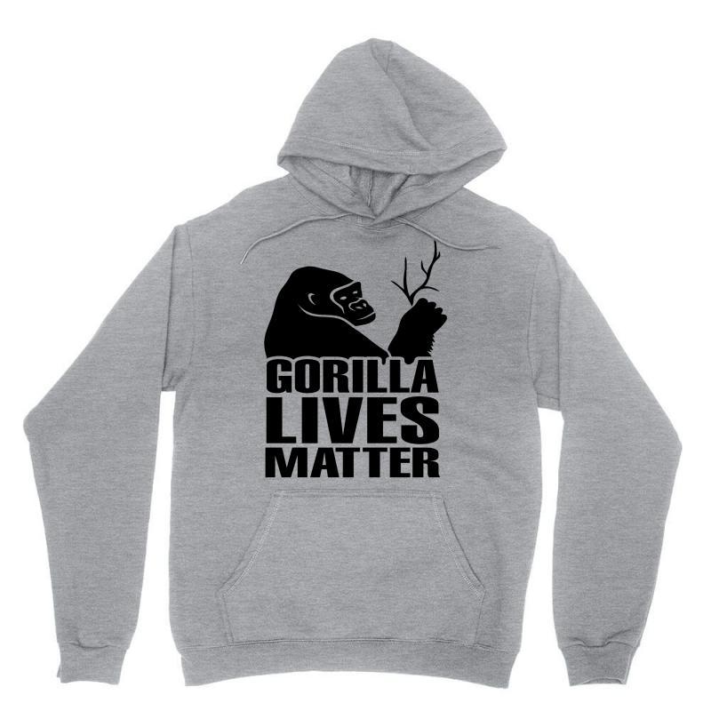 Gorilla Lives Matter Unisex Hoodie   Artistshot