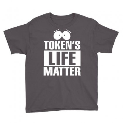 Tokens Life Matter Youth Tee Designed By Tshiart